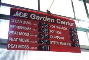 Ace garden center prices