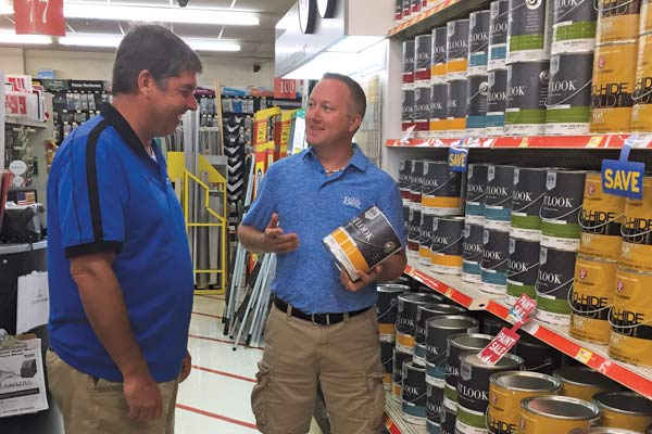 Even though Chris Hughes worked at Hardware Plus for years before buying the store, he discovered he still had plenty to learn about an owner's roles and responsibilities.