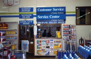 services offered signage