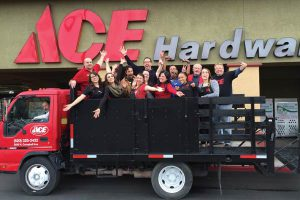 Working with the entire team at Mark's Ace Hardware is by far your favorite part of the job.