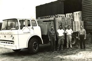 My father, Austin (right) sold the business to me in 1974 after 30 years of ownership.