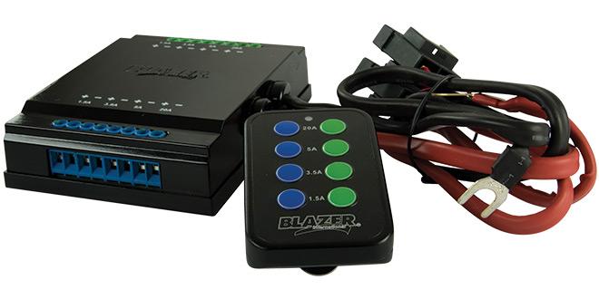 Automotive Remote Light System