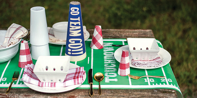 Paper Table Runner