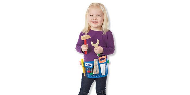 Toy Tool Belt Set