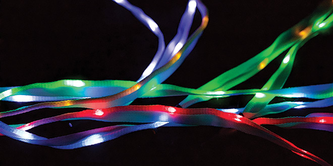 LED Yarn Wire