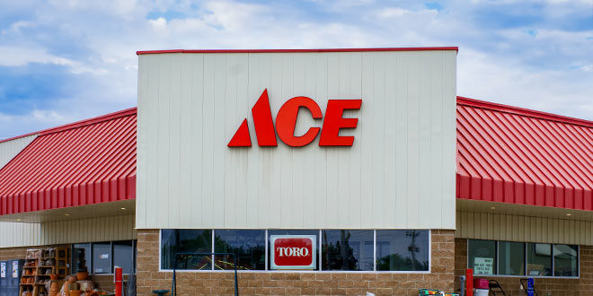 Revenue, Store Sales Up for Ace Hardware