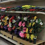memorial day flower display