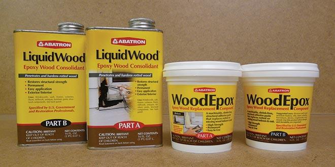 Wood Repair Epoxy