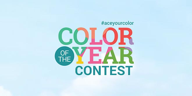 Customers Get Creative for Ace Color of the Year Contest
