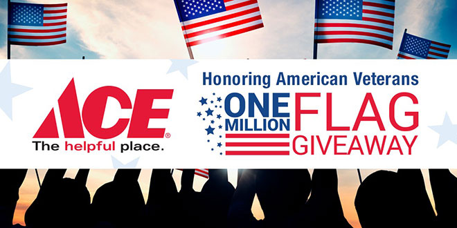 Ace Stores Honor Veterans With Free Flags for Memorial Day