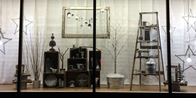 An Inside Look At Cole Hardware's Window Displays