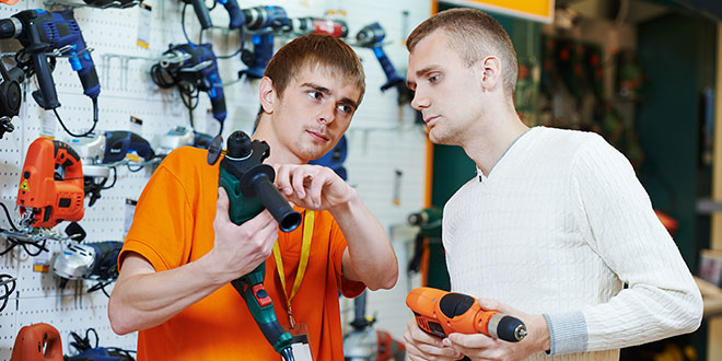 Physical Stores Beat Amazon for Power Tool Sales