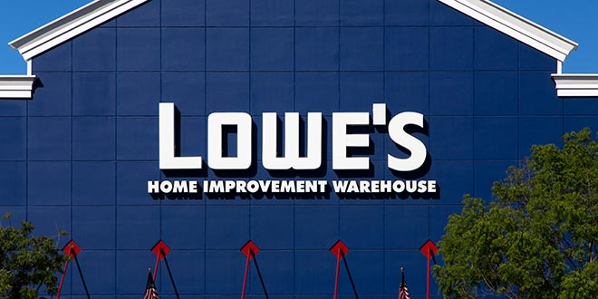 Lowe's Becomes Official Home Improvement NFL Retail Sponsor