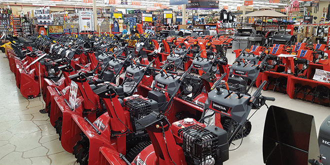 Snowblower Promotion Has Customers Hoping for Snow
