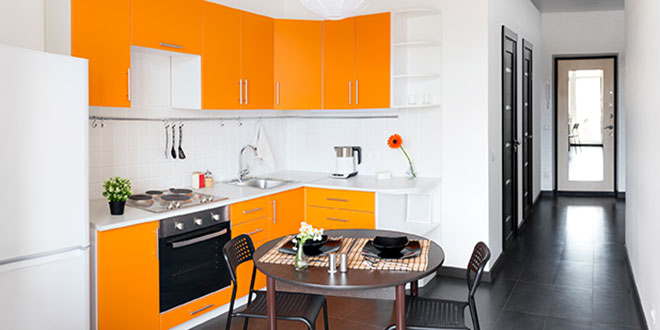 Kitchen Cabinets Are Becoming More Colorful