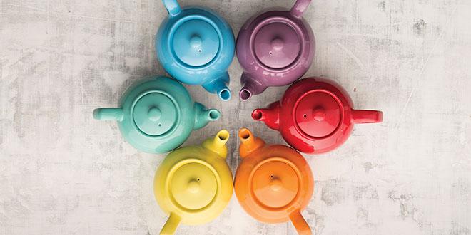 Colorful Teapots