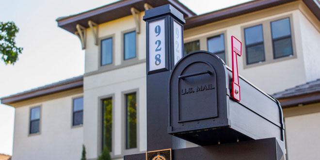 Solar-Powered Mailbox Kit