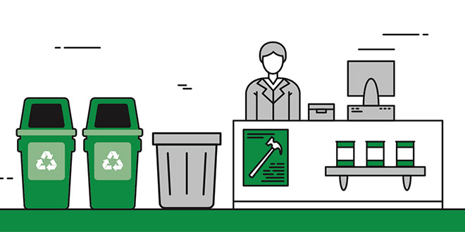 How In-Store Recycling Programs Can Boost Business