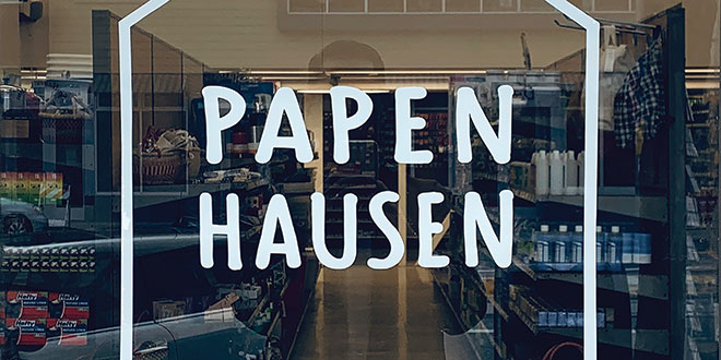 Papenhausen Hardware Operating Popup Store After Fire