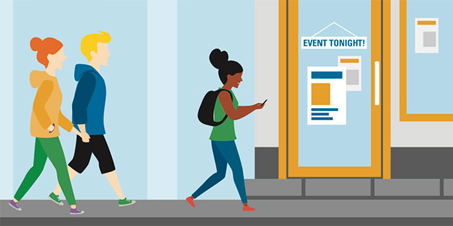 Targeting Multiple Generations of Shoppers With Events