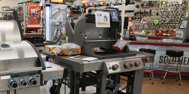 grill merchandising