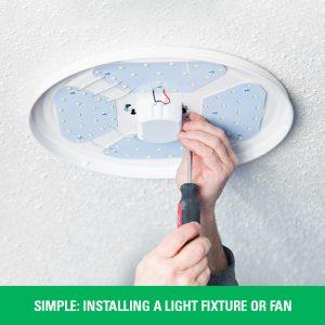 installing a ceiling fan