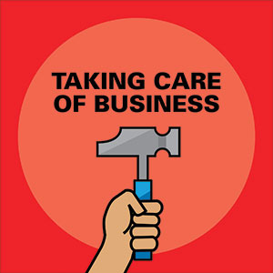 taking care of business podcast