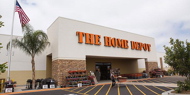 home depot sales
