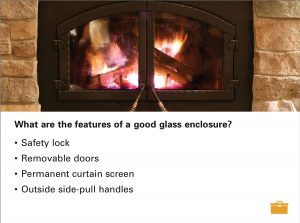 Fireplace safety screenshot