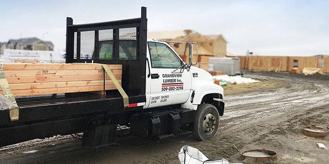 grandview lumber truck