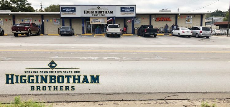 Higginbotham Brothers Names New Managers, Opens 39th Location
