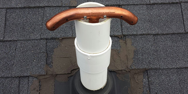 Sewer Vent Defroster