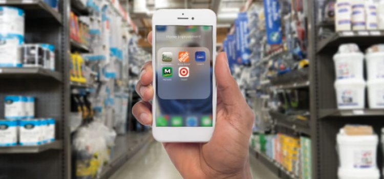 Mobile Apps Serve, Entertain Shoppers