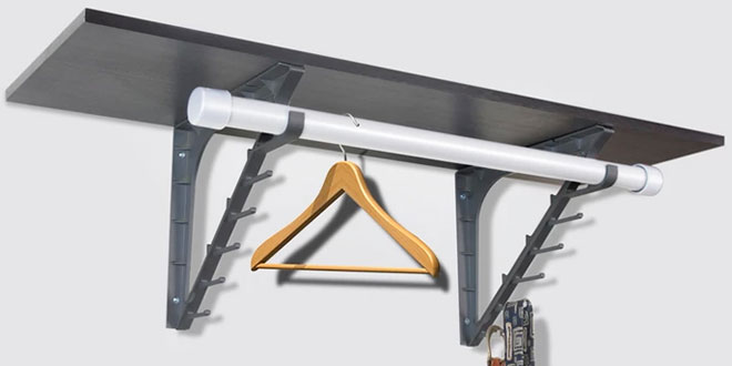 Closet bracket hardware retailing - How warm does it have to be to paint outside ...