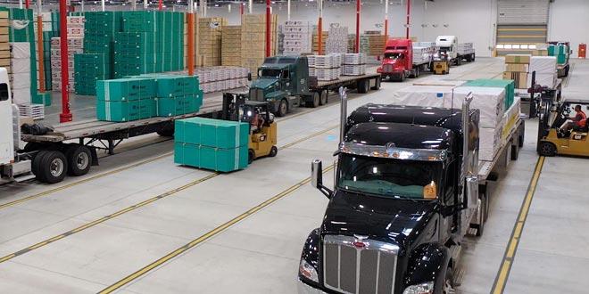 flatbed distribution center