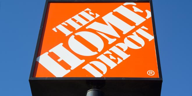 home depot announces