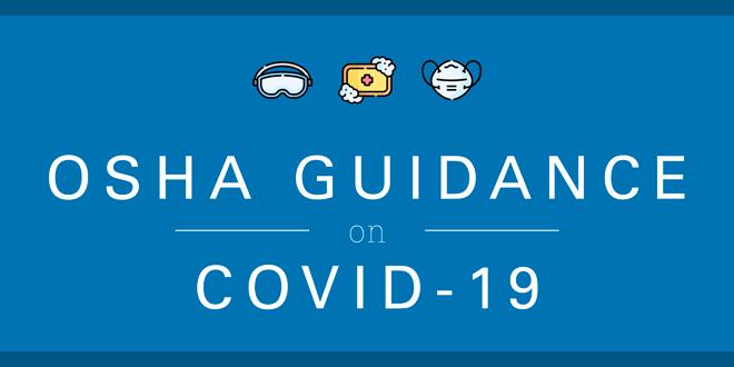 osha guidance covid-19