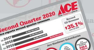 ace hardware q2 revenue