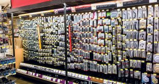 Builders' Hardware aisle