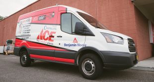 Costello's Ace Hardware van