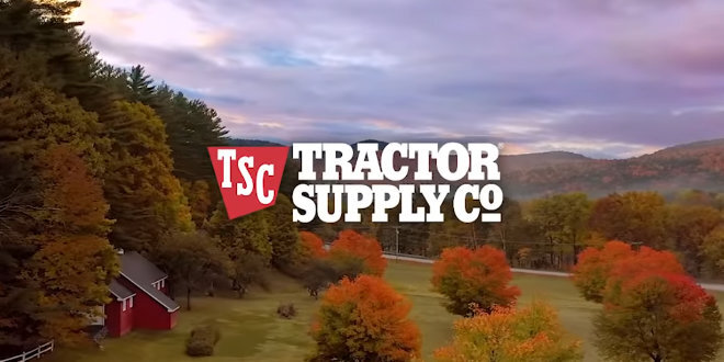 tractor supply record sales