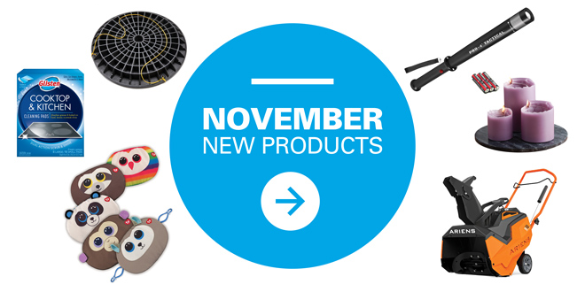 November New Products
