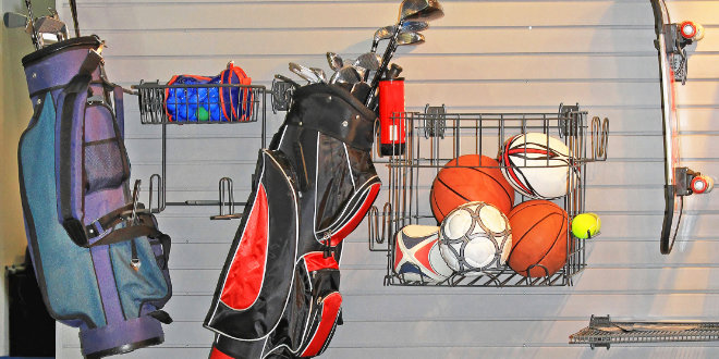 Sports Equipment Storage