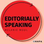 Editorially Speaking Podcast logo