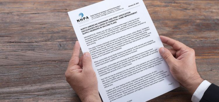 NHPA, Industry Leaders Sign Letter on Vaccine Priority