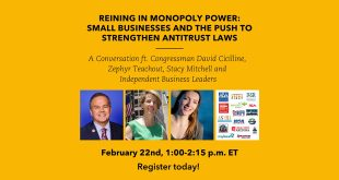 Strengthening Antitrust Laws