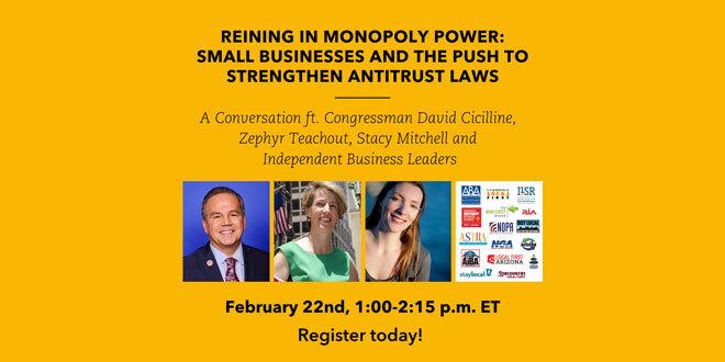 Strengthening Antitrust Laws
