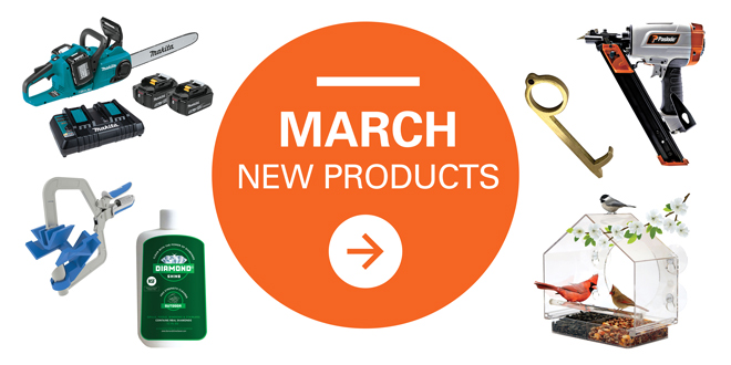 March New Products