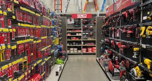 hand and power tool aisle