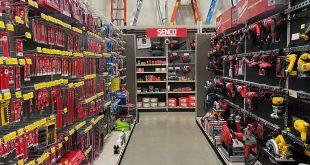 hand and power tool aisle
